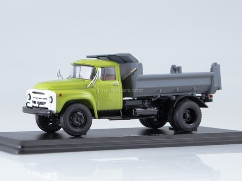 ZIL-MMZ-4505 dump truck green-gray 1:43 Start Scale Models (SSM)