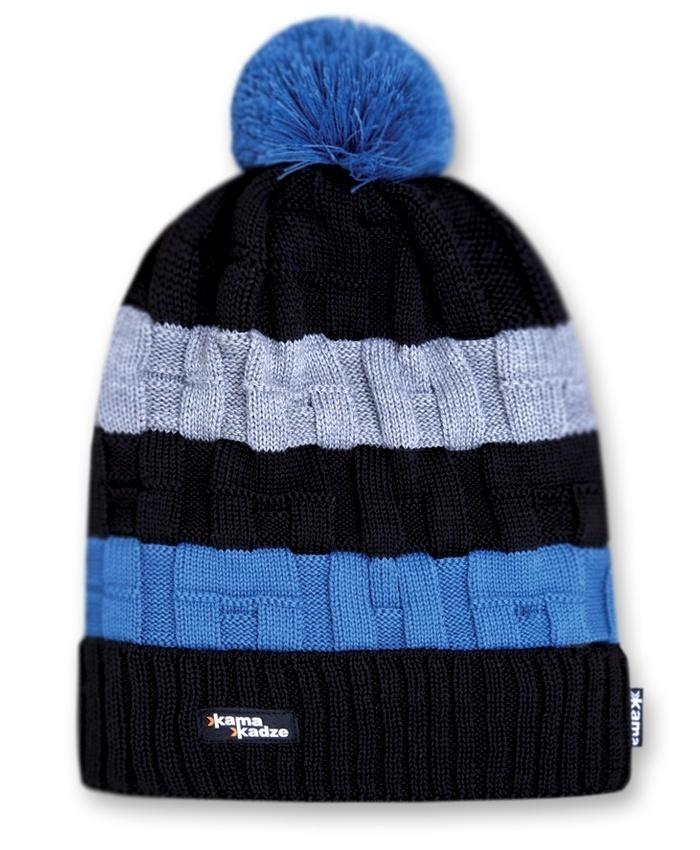 Шапки с помпоном Шапка с помпоном Kama K21 Black kamakadze-knitted-hat-k21-default__1_.jpg