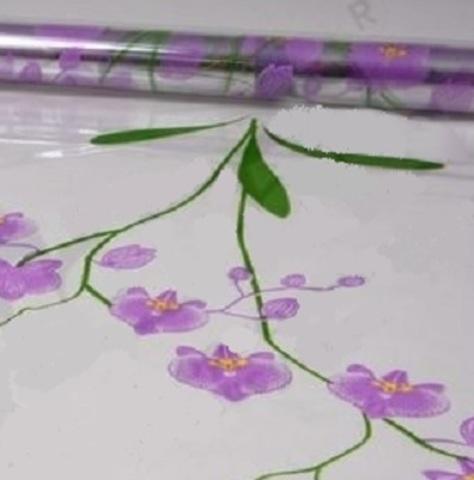 Пленка цветная Орхидея (размер:70см х 7м) Цвет:сиреневый