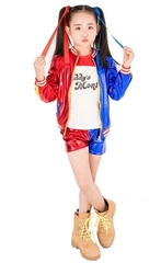 Отряд самоубийц костюм для девочки Харли Квинн