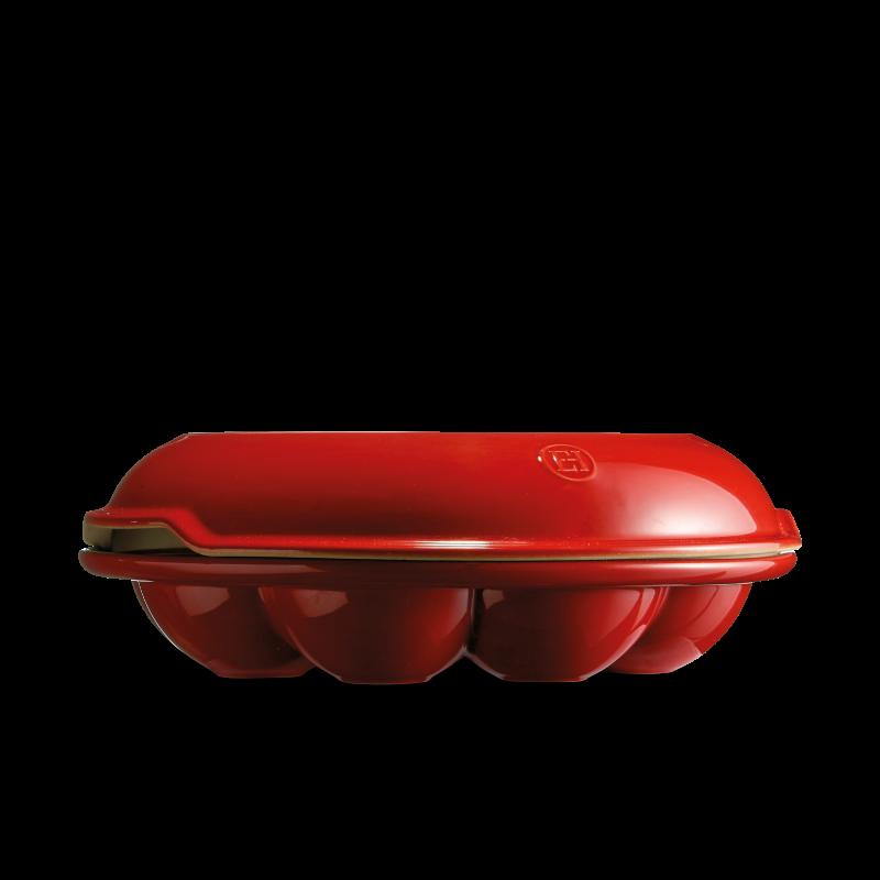 Форма Couronne для булочек Emile Henry (гранат)