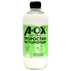 Напиток антиоксидантный безалкогольный негазированный торговой марки «А-ОХ» Расторопша плюс  500мл
