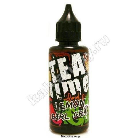 Жидкость OLD SCHOOL - Tea Lemon 0% никотина