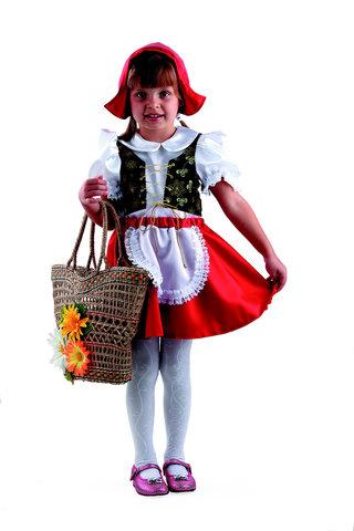 Купить платье Красной Шапочки для девочки - Магазин