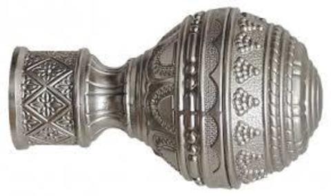 Люксор сатин наконечники на карниз кованый d 16