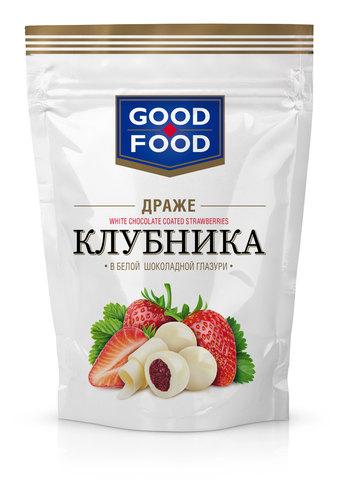 GOOD FOOD Клубника в белой глазури 150г