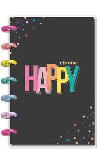 Блокнот в точку Happy Planner Mini Notebook -60 л- Oh Happy Everyday