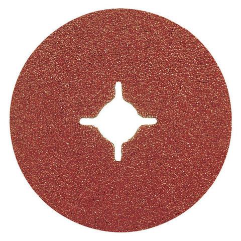 Фибровый шлифовальный диск A36 125 мм
