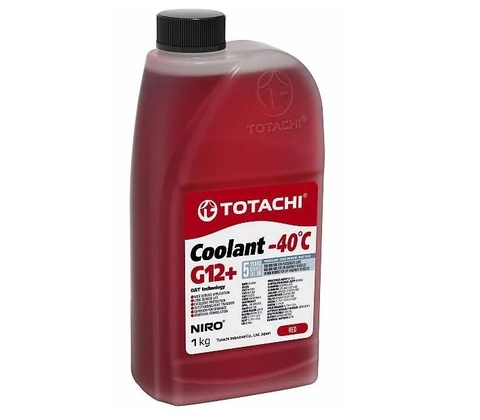 Антифриз Totachi NIRO Coolant Red -40C G12+