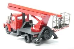 GAZ-3307 lift red Kompanion 1:43