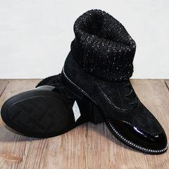 Осенние ботинки женские Kluchini 5161 k255 Black