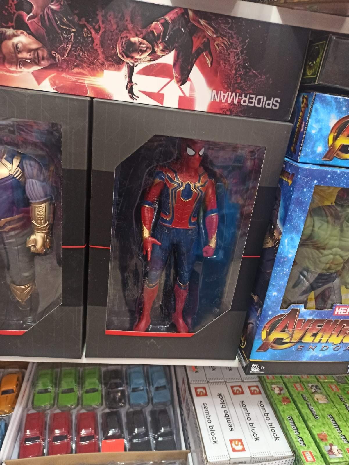Человек паук в подарочной упаковке 30 см