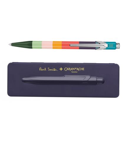 Carandache Office 849 Paul Smith Edition 3 - Damson, шариковая ручка, M, шт
