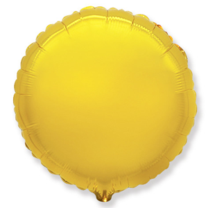Шар Круг золото 46 см