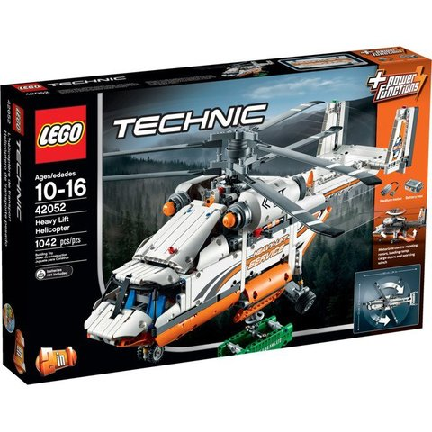LEGO Technic: Грузовой вертолет 42052 — Heavy Lift Helicopter — Лего Техник