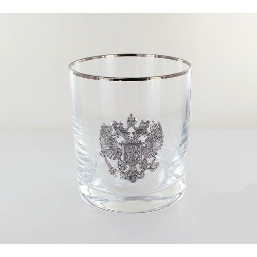 Стопка для водки «Серебряная Россия», 70 мл стопка для водки из хрусталя classic 55 мл