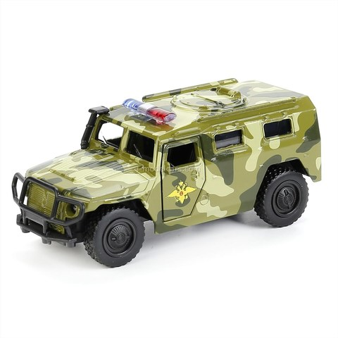 GAZ-2330 Tiger summer camouflage Technopark 1:43