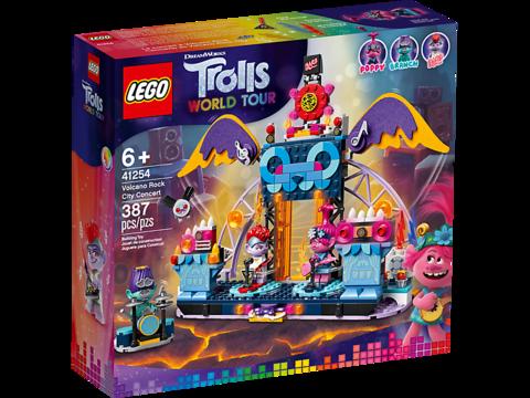 LEGO Trolls: Концерт в городе Рок-на-Вулкане 41254 — Volcano Rock City Concert — Лего Троллз Тролли