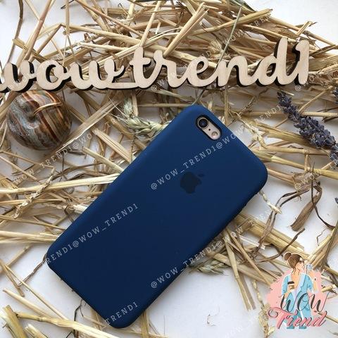 Чехол iPhone 6+/6s+ Silicone Case /blue cobalt/ кобальт 1:1