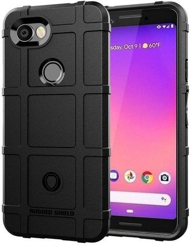 Чехол Google Pixel 3a цвет Black (черный), серия Armor, Caseport