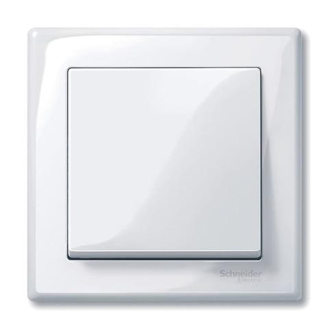 Рамка на 1 пост. Цвет Активный белый. Merten. M-Smart System M. MTN478125
