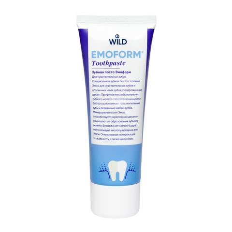 Зубная паста Эмоформ для чувствительных зубов Emoform Dr.Wild, 75 мл