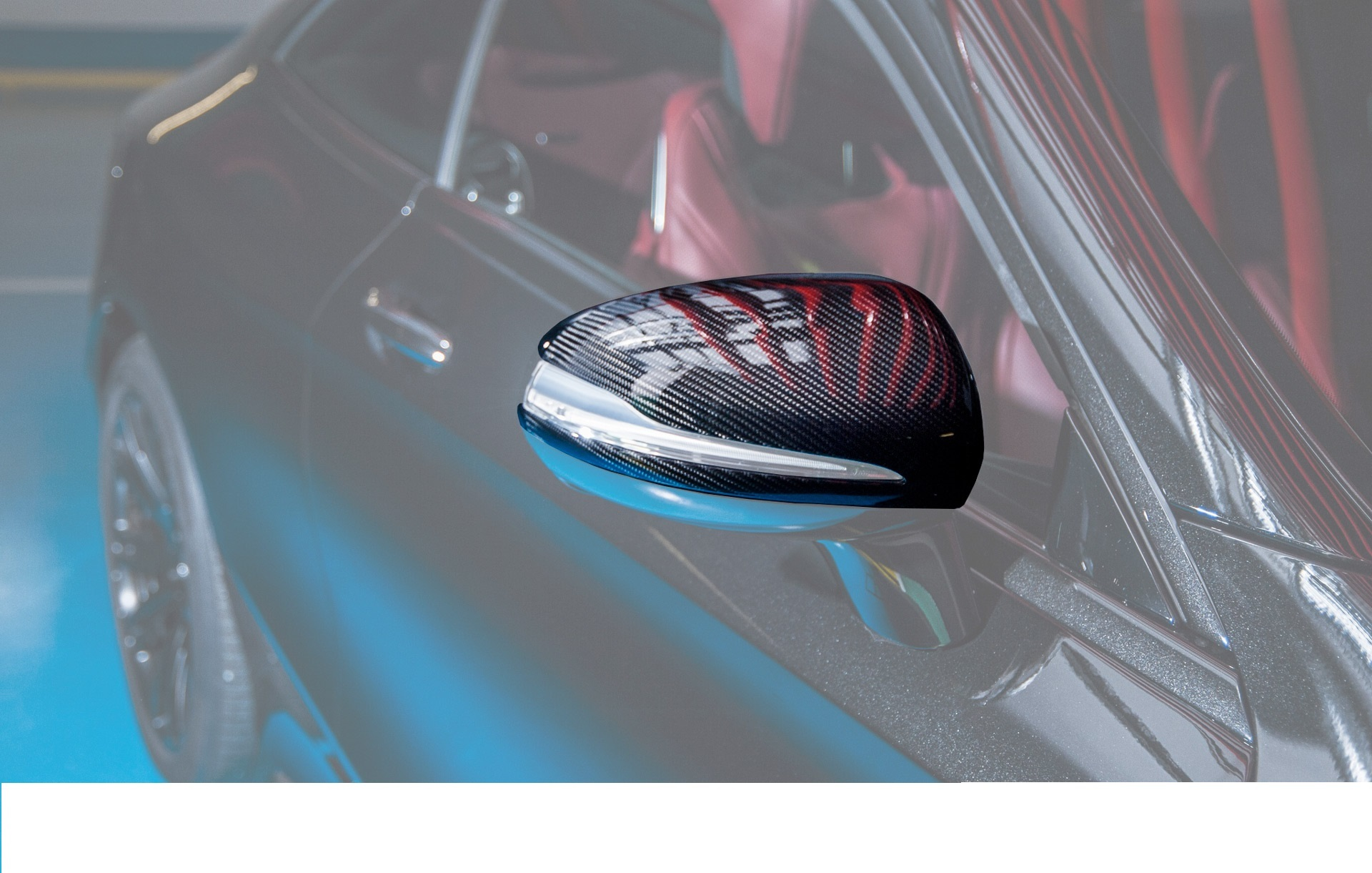 Карбоновые корпуса зеркал    для Mercedes S63 AMG W222