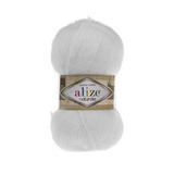 Пряжа Alize Naturale 55 белый