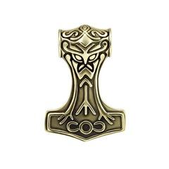 Молот Тора из ювелирной бронзы и мельхиора
