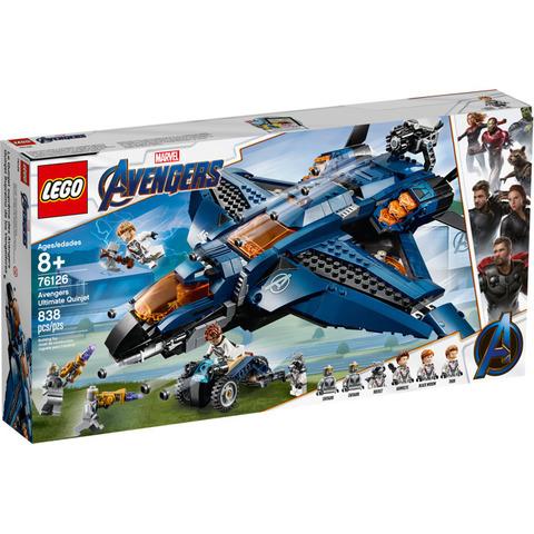 LEGO Super Heroes: Модернизированный квинджет Мстителей 76126 — Avengers Ultimate Quinjet — Лего Супергерои Марвел