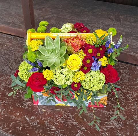 Ящик с цветами Третий