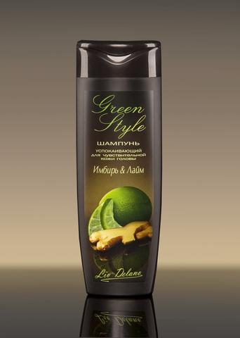 Liv delano Green Style Успокаивающий шампунь