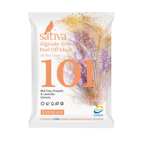 Маска альгинатная Анти-Акне №101 | Sativa