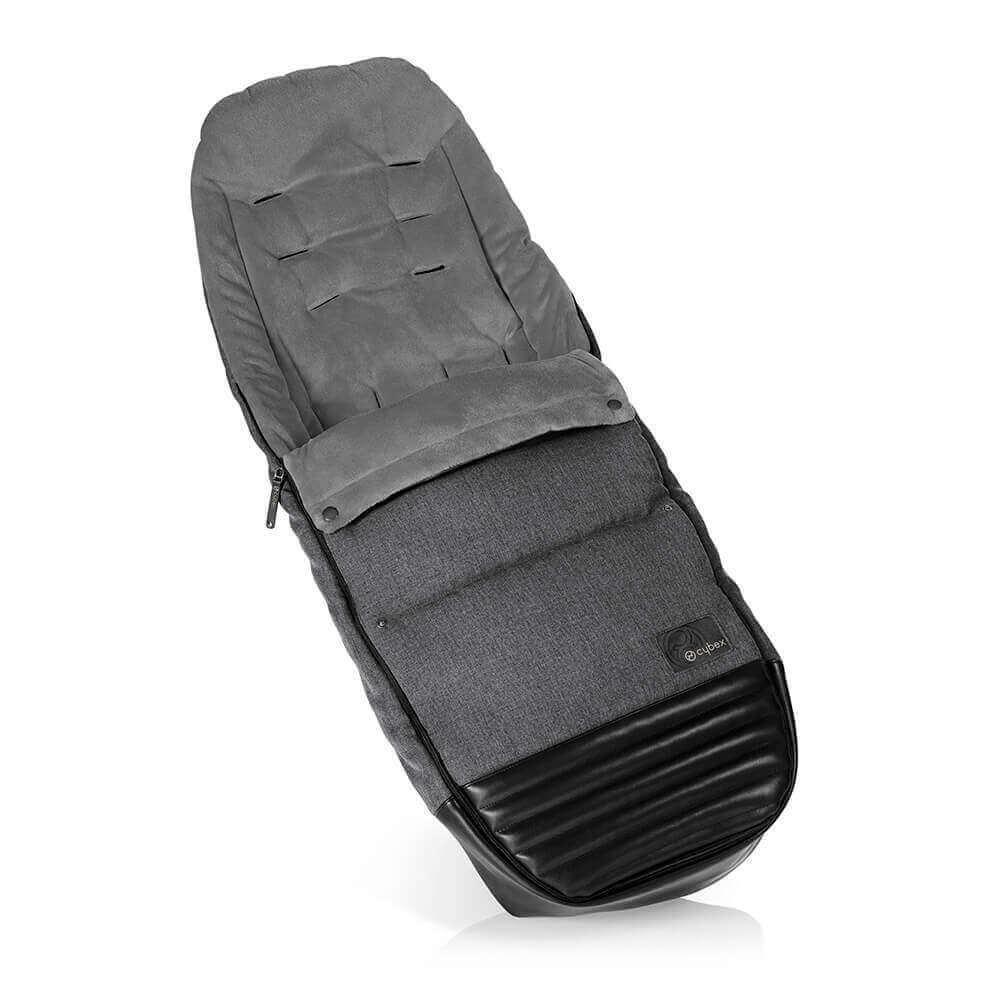 Конверт для коляски Cybex Теплый конверт в коляску Cybex Priam Footmuff Manhattan Grey cybex-priam-footmuff-manhattan-grey.jpg