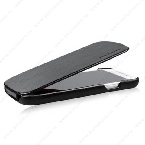 Чехол-флип Borofone для Samsung Galaxy S4 i9500/ i9505 - Borofone General Leather Case Black