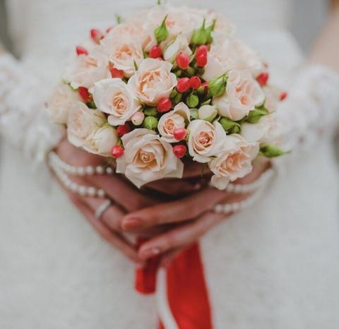 Свадебный букет #433