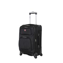 Чемодан Wenger Sion, чёрный, 37x22x60 см, 35 л