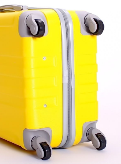 Чемодан Ananda Желтый 533 ручная кладь (S)