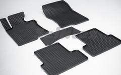 """Резиновые коврики """"Сетка"""" для Honda Accord VIII (2007-2012)"""