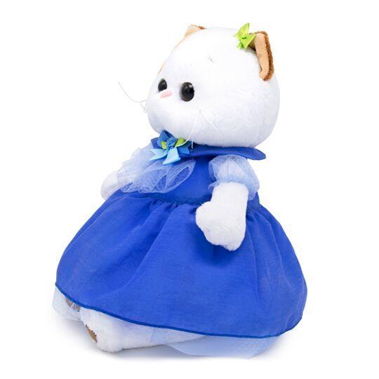 Кошечка Ли-Ли в синем платье