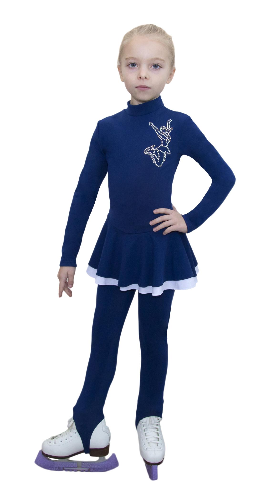 Платье из термоткани с двумя юбками
