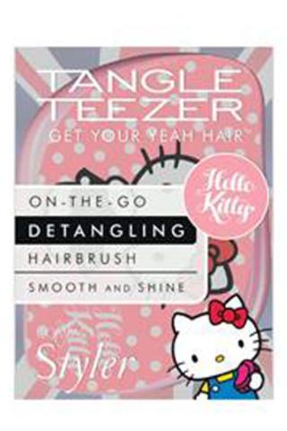 Расческа для волос Tangle Teezer Compact Styler Hello Kitty Pale Pink