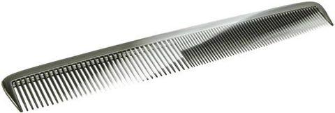 Расчёска 17,5 см серо-черная Titania