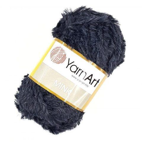 Пряжа YarnArt Mink - (336-графит)