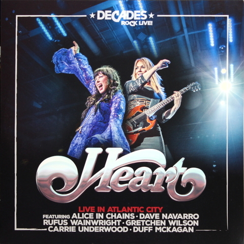 Heart / Live In Atlantic City (2LP)