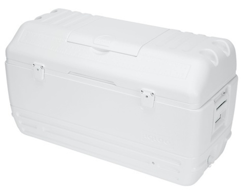 Изотермический контейнер (термобокс) Igloo Maxcold Contour 165 (150 л.), белый