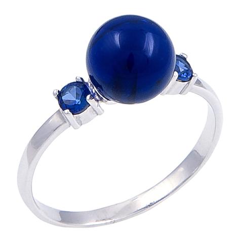 Кольцо с сапфиром Арт.1098кс