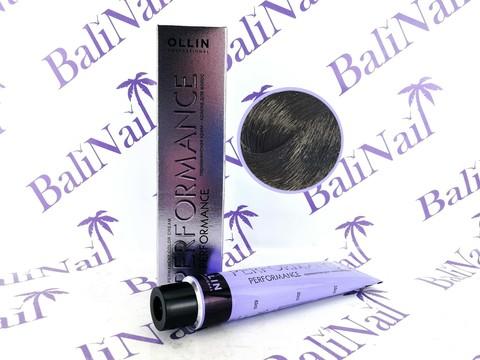 OLLIN PERFORMANCE  2/0 черный 60мл Перманентная крем-краска для волос