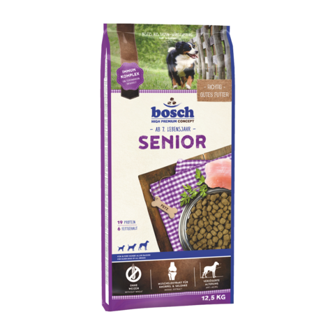 Bosch Senior Сухой корм для пожилых собак с домашней птицей