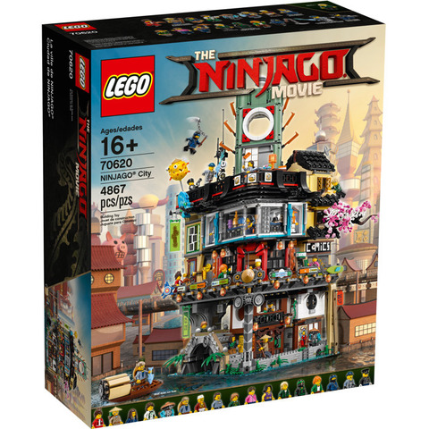 LEGO Ninjago Movie: Ниндзяго Сити 70620 — Ninjago City — Лего Ниндзяго фильм